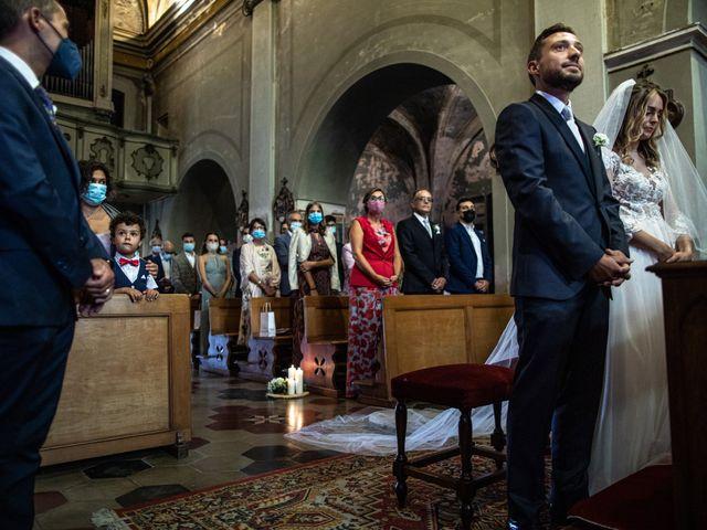 Il matrimonio di Davide e Martina a Castelletto sopra Ticino, Novara 116