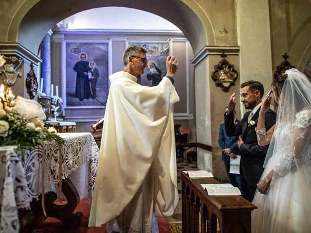 Il matrimonio di Davide e Martina a Castelletto sopra Ticino, Novara 118