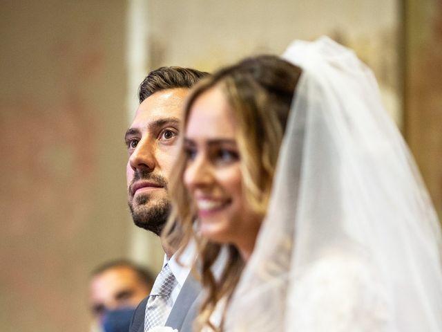 Il matrimonio di Davide e Martina a Castelletto sopra Ticino, Novara 119