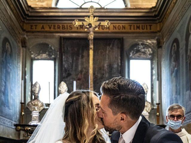Il matrimonio di Davide e Martina a Castelletto sopra Ticino, Novara 121