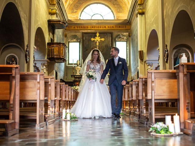 Il matrimonio di Davide e Martina a Castelletto sopra Ticino, Novara 122