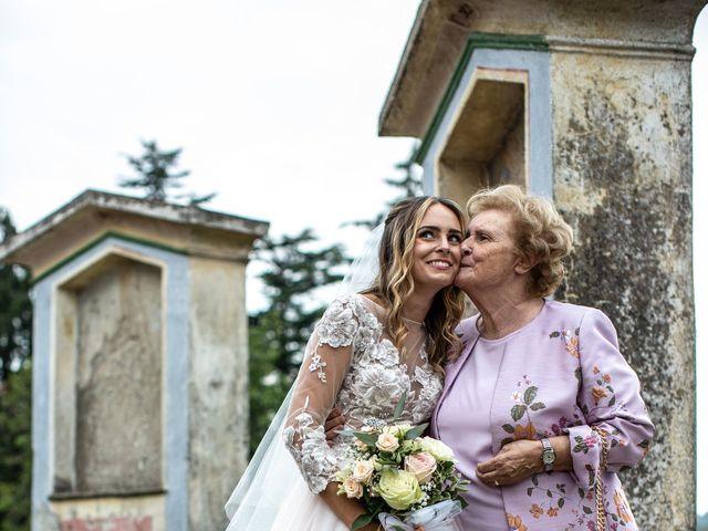 Il matrimonio di Davide e Martina a Castelletto sopra Ticino, Novara 125