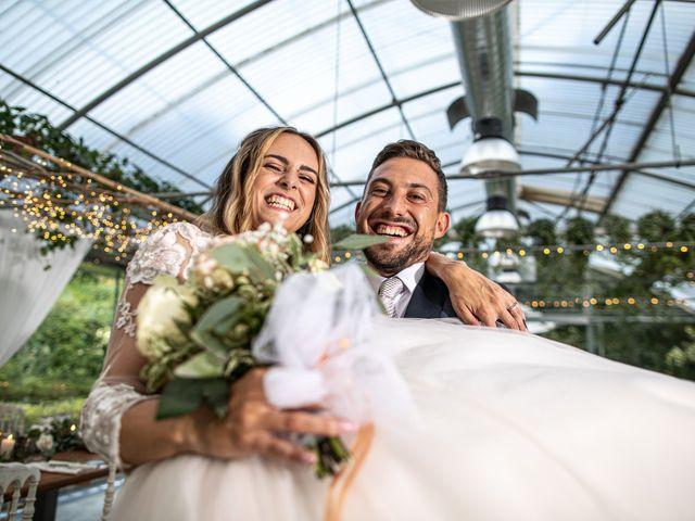 Il matrimonio di Davide e Martina a Castelletto sopra Ticino, Novara 139