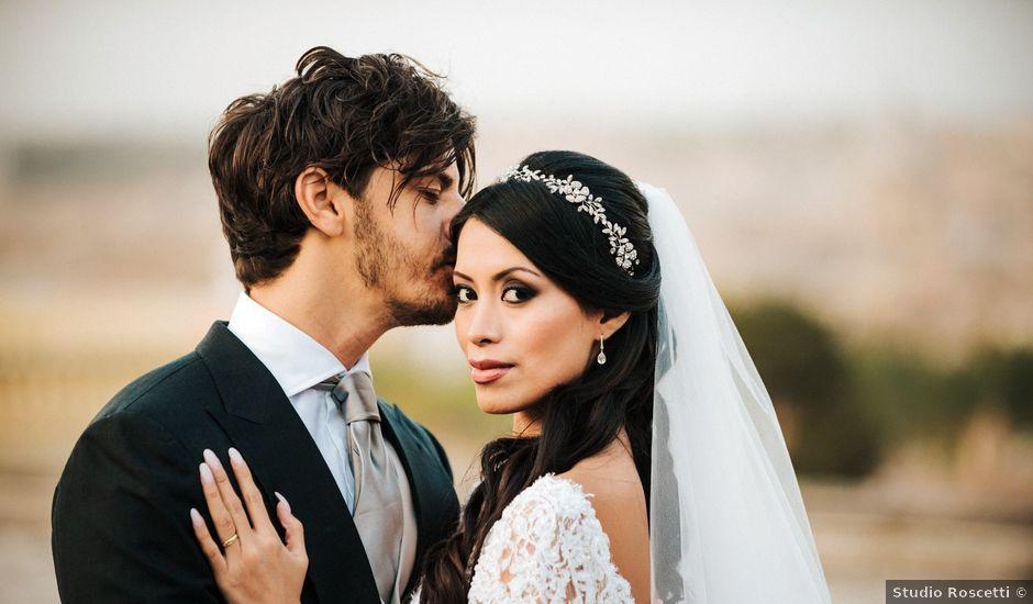 Il matrimonio di Daniele e Myriam a Roma, Roma