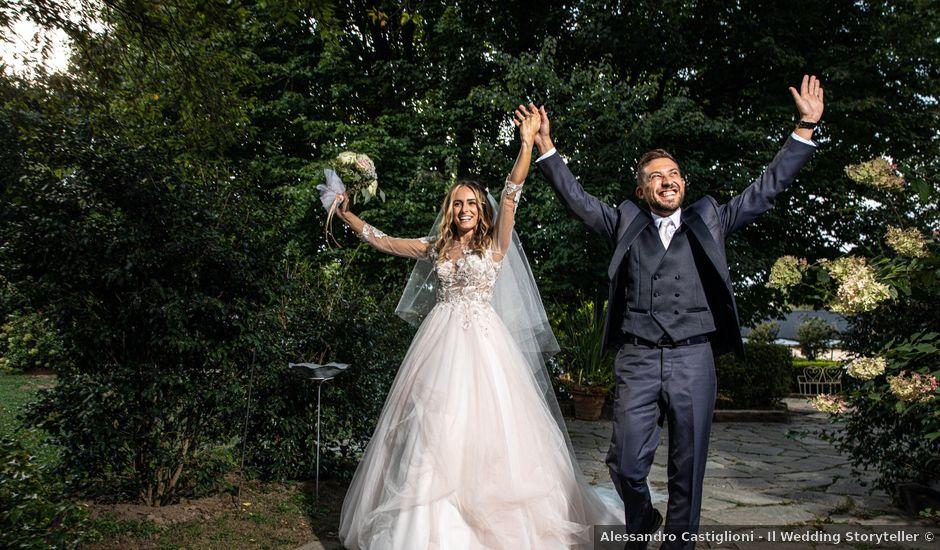 Il matrimonio di Davide e Martina a Castelletto sopra Ticino, Novara