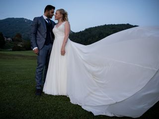 Le nozze di Dalida e Angelo