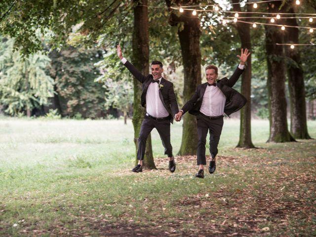 le nozze di Sergio e Riccardo