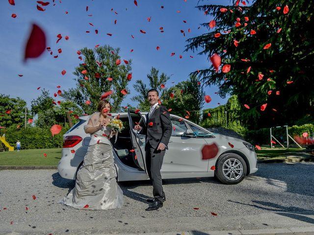 Il matrimonio di Aldo e Gisella a Trezzo sull'Adda, Milano 17