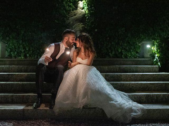 Il matrimonio di Tommaso e Sara a Bodio Lomnago, Varese 2