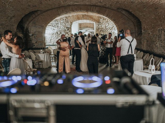 Il matrimonio di Tommaso e Sara a Bodio Lomnago, Varese 3