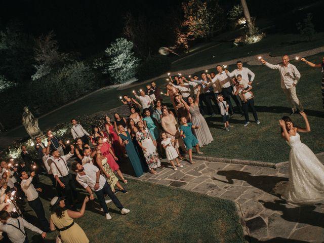 Il matrimonio di Tommaso e Sara a Bodio Lomnago, Varese 7