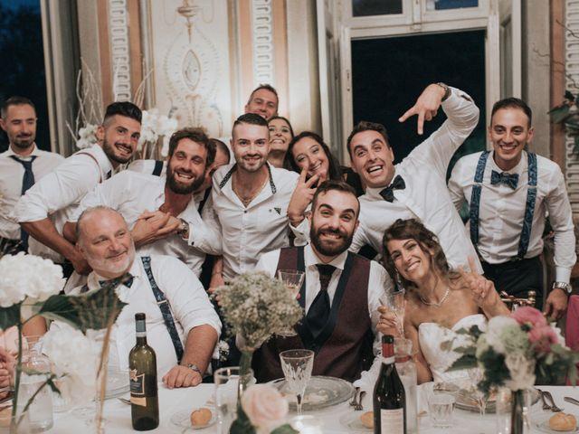 Il matrimonio di Tommaso e Sara a Bodio Lomnago, Varese 35