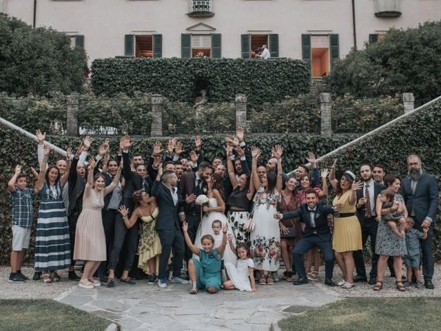 Il matrimonio di Tommaso e Sara a Bodio Lomnago, Varese 38
