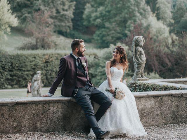 Il matrimonio di Tommaso e Sara a Bodio Lomnago, Varese 39