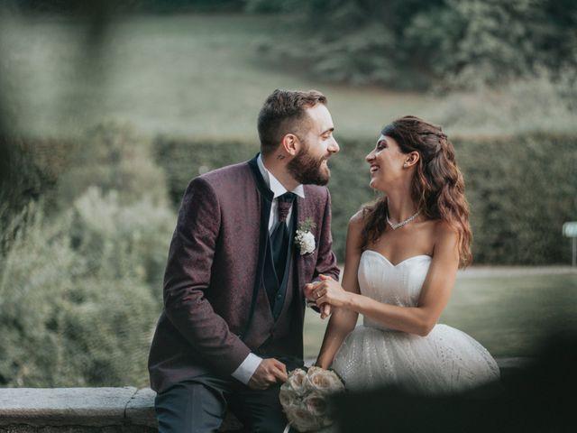 Il matrimonio di Tommaso e Sara a Bodio Lomnago, Varese 40
