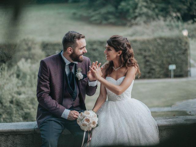 Il matrimonio di Tommaso e Sara a Bodio Lomnago, Varese 42