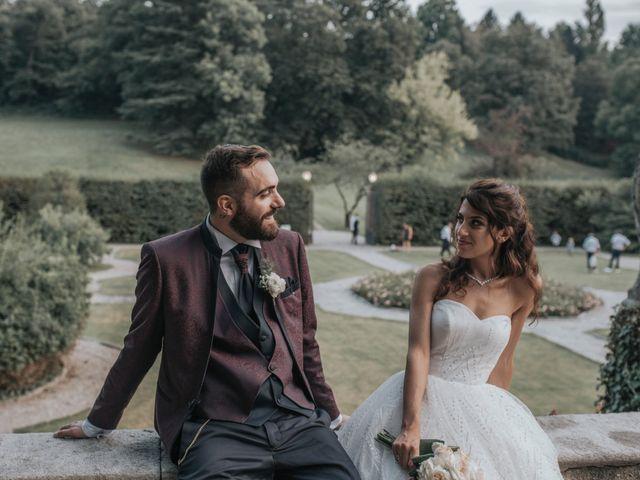 Il matrimonio di Tommaso e Sara a Bodio Lomnago, Varese 43