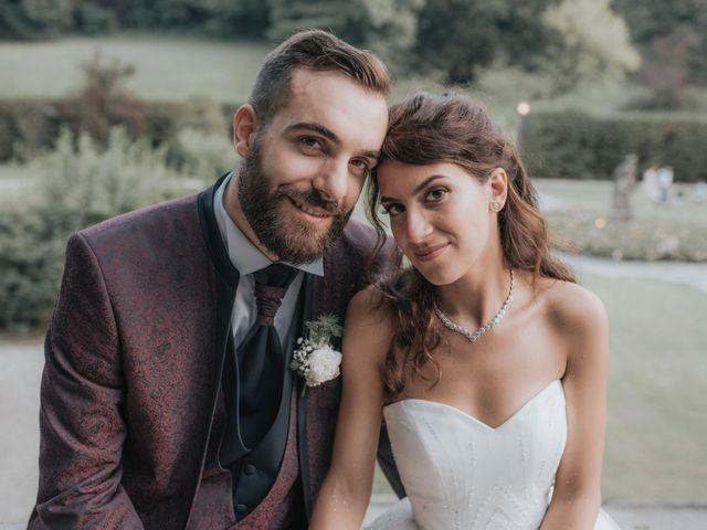 Il matrimonio di Tommaso e Sara a Bodio Lomnago, Varese 44