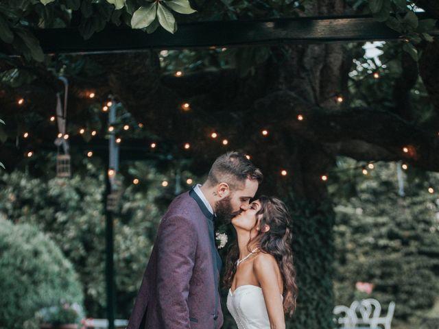 Il matrimonio di Tommaso e Sara a Bodio Lomnago, Varese 45