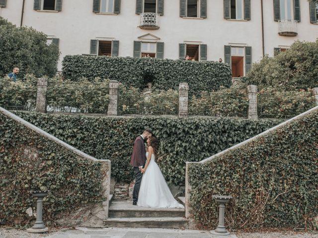 Il matrimonio di Tommaso e Sara a Bodio Lomnago, Varese 46