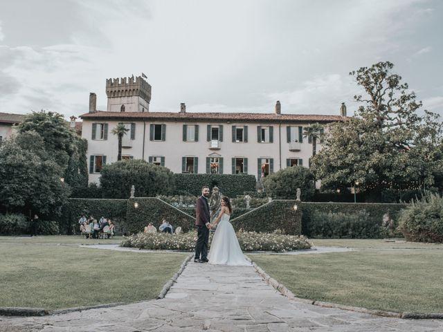 Il matrimonio di Tommaso e Sara a Bodio Lomnago, Varese 47