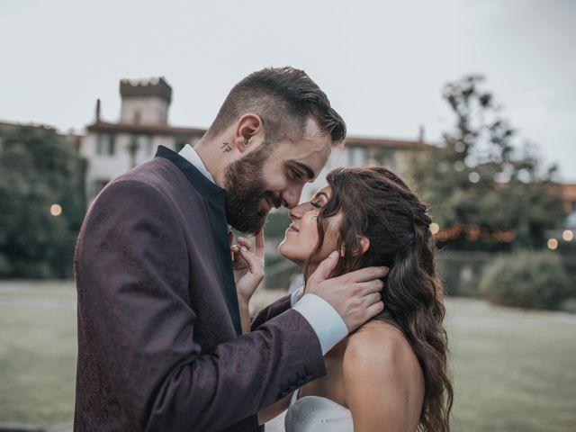 Il matrimonio di Tommaso e Sara a Bodio Lomnago, Varese 48