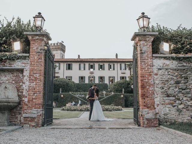 Il matrimonio di Tommaso e Sara a Bodio Lomnago, Varese 50
