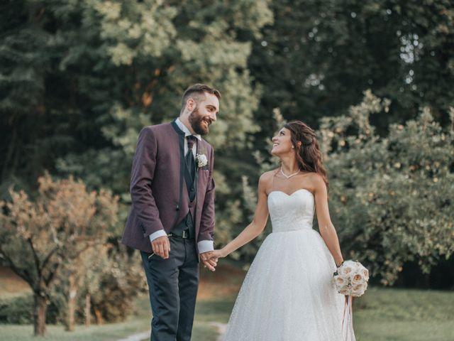 Il matrimonio di Tommaso e Sara a Bodio Lomnago, Varese 51