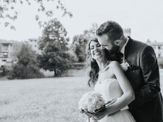 Il matrimonio di Tommaso e Sara a Bodio Lomnago, Varese 54