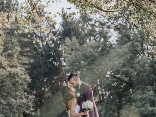 Il matrimonio di Tommaso e Sara a Bodio Lomnago, Varese 55