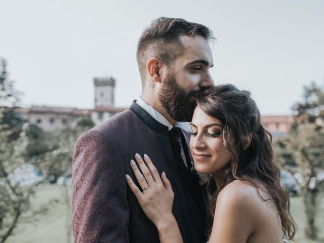 Il matrimonio di Tommaso e Sara a Bodio Lomnago, Varese 58
