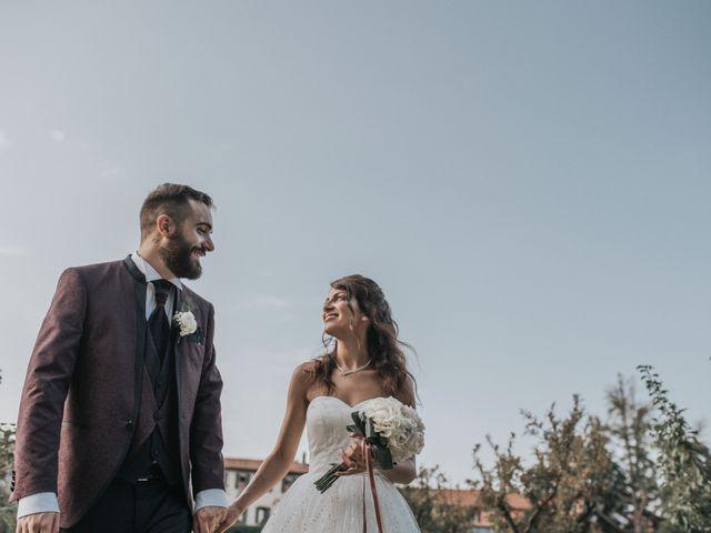 Il matrimonio di Tommaso e Sara a Bodio Lomnago, Varese 61