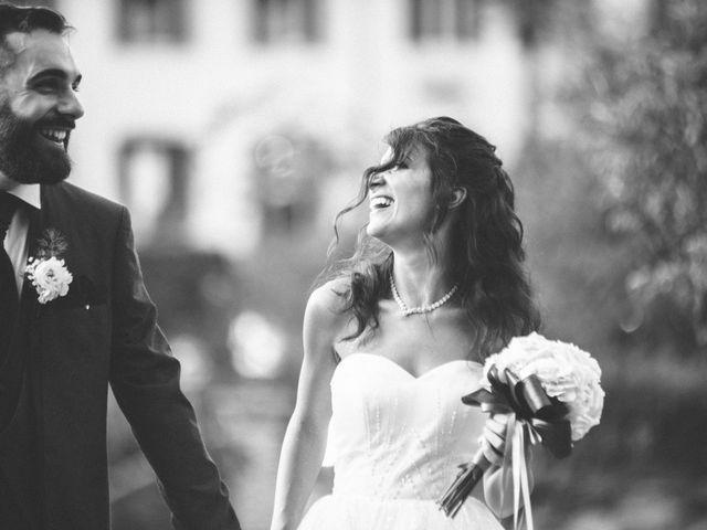 Il matrimonio di Tommaso e Sara a Bodio Lomnago, Varese 63