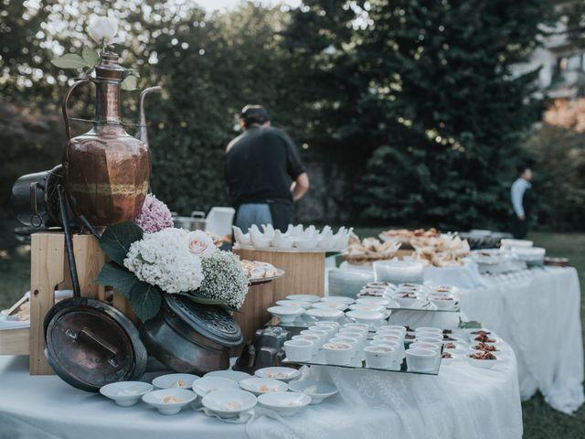 Il matrimonio di Tommaso e Sara a Bodio Lomnago, Varese 78