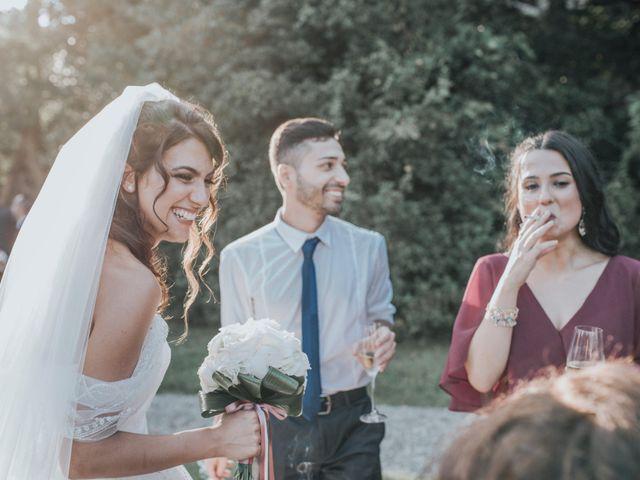Il matrimonio di Tommaso e Sara a Bodio Lomnago, Varese 80