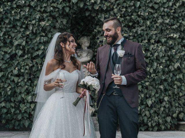 Il matrimonio di Tommaso e Sara a Bodio Lomnago, Varese 88
