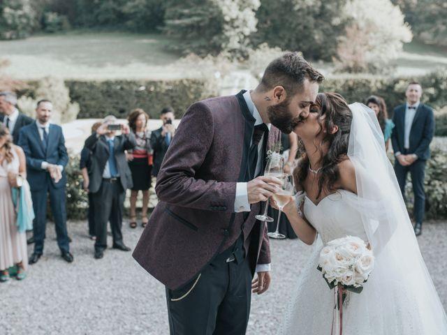Il matrimonio di Tommaso e Sara a Bodio Lomnago, Varese 89
