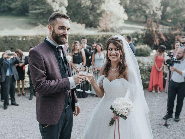 Il matrimonio di Tommaso e Sara a Bodio Lomnago, Varese 90