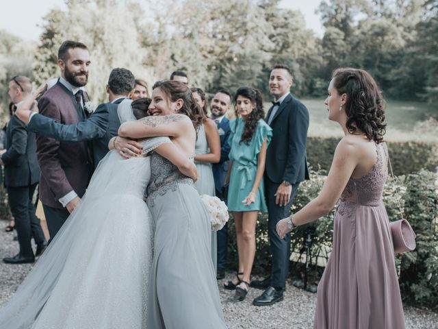 Il matrimonio di Tommaso e Sara a Bodio Lomnago, Varese 92