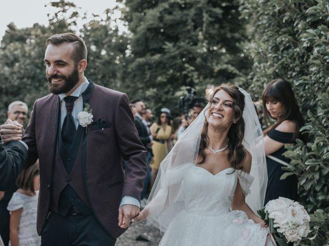 Il matrimonio di Tommaso e Sara a Bodio Lomnago, Varese 93