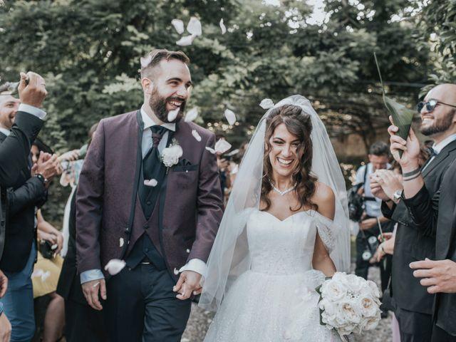 Il matrimonio di Tommaso e Sara a Bodio Lomnago, Varese 94