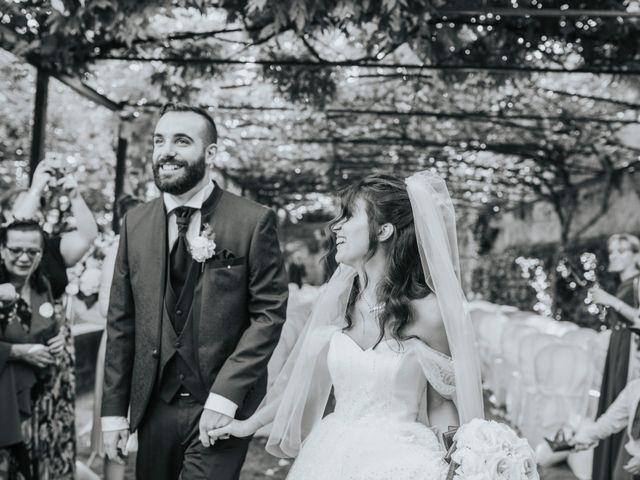 Il matrimonio di Tommaso e Sara a Bodio Lomnago, Varese 95