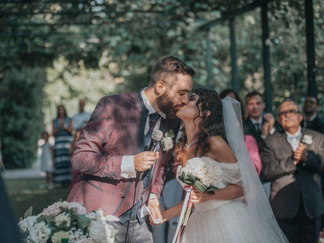 Il matrimonio di Tommaso e Sara a Bodio Lomnago, Varese 102