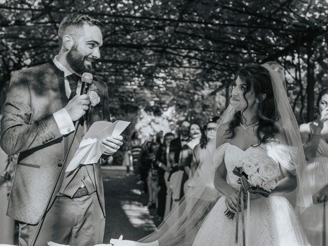 Il matrimonio di Tommaso e Sara a Bodio Lomnago, Varese 105
