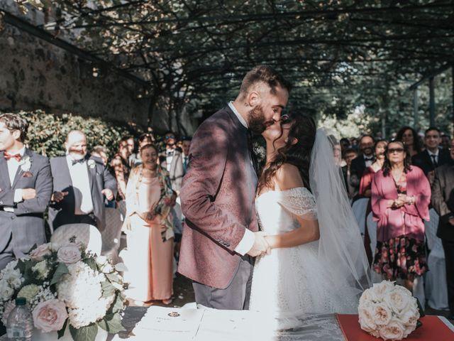 Il matrimonio di Tommaso e Sara a Bodio Lomnago, Varese 106