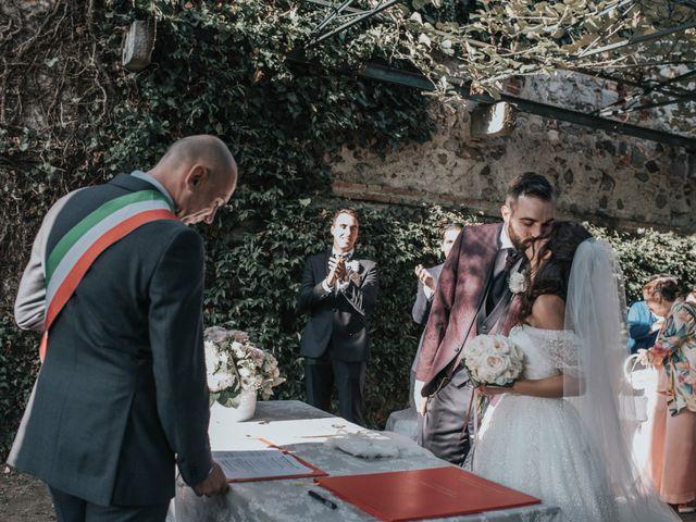 Il matrimonio di Tommaso e Sara a Bodio Lomnago, Varese 109