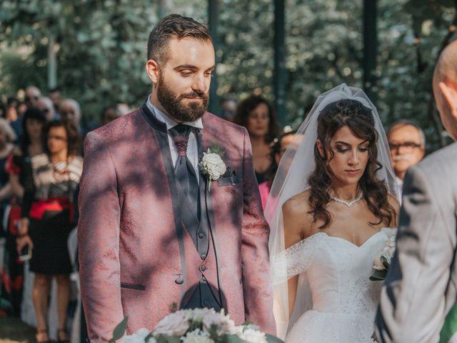 Il matrimonio di Tommaso e Sara a Bodio Lomnago, Varese 111