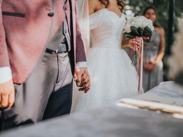 Il matrimonio di Tommaso e Sara a Bodio Lomnago, Varese 112