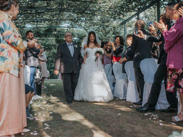 Il matrimonio di Tommaso e Sara a Bodio Lomnago, Varese 113