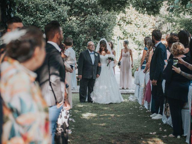 Il matrimonio di Tommaso e Sara a Bodio Lomnago, Varese 114